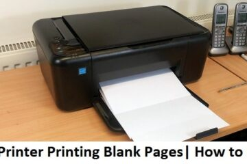 Printer-Printing-Blank-Pages
