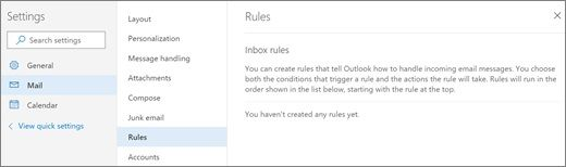Outlook-Email-Rules